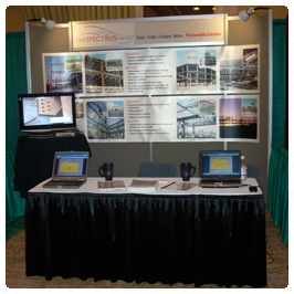 Spectrus Group booth at the 2008 SEAOC Convention
